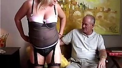 Stockings Cock pumping in a good cumshots