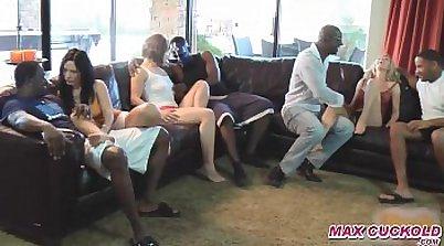 Cuckold Wives in Gangbang Orgies