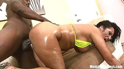 Big ass milf riding friends dicks BBC