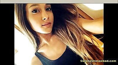 Ariana Grande nude photos and upskirt!