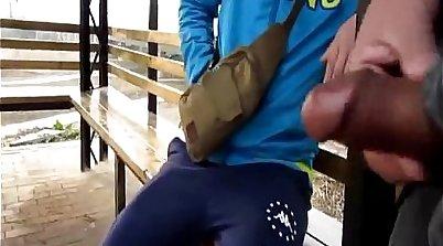 Chinese schoolgirl seduced in dressing room