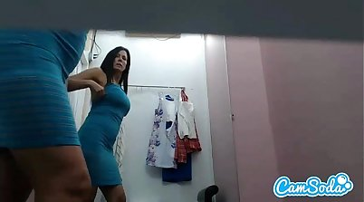 Awesome fake milf lesbian with big tits and ass Carolina gets penetrated