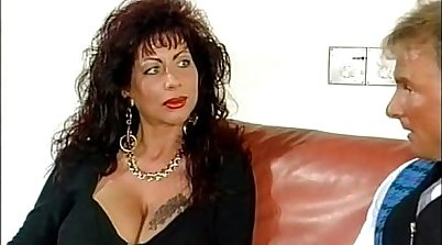 Big titty German woman sells her things for sex