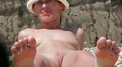Payton Scott super hot ever on public beach