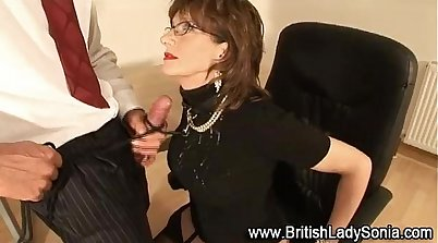 Slutty British femdoms bang bodies in brothel