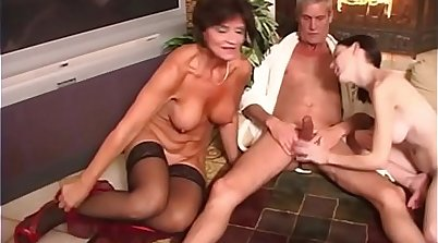 Big tits stepmom taboo sex orgy with stepdaughters