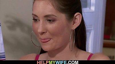 Cuckold Wife Sucksed And Fucks Her Husband