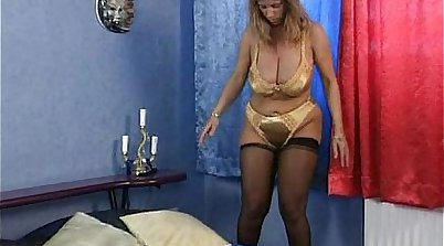 Busty mature housewife getting doggystyled