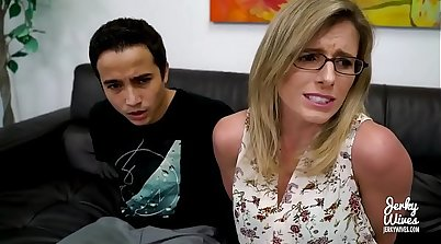 Step Mom Gives Sons Boyfriend A Brand New Monster Cock