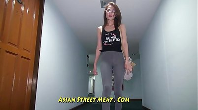 asian hotwife likes white dick in van