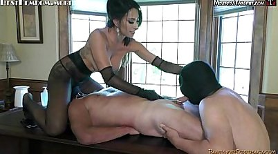 Sexy femdoms forced to fuck