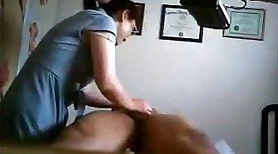 Chinese massage behind my desk