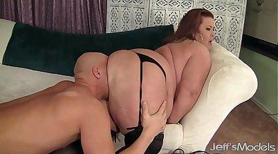 Busty BBW hot mature whore Jessica K Allure in hardcore sex video