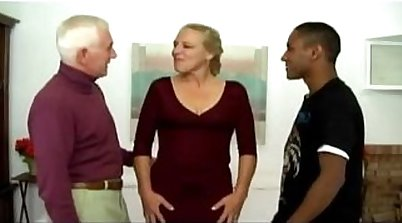 Porn scenes of antsy interracial Manonny and Jerry, two mature
