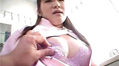 Asian Nurse Giving BJ